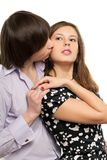 Passionate loving couple Royalty Free Stock Images