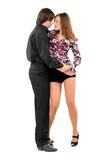 Passionate loving young couple Royalty Free Stock Photo
