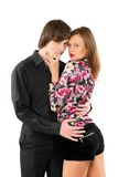 Passionate loving young couple Stock Photo