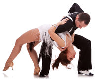 Free Passionate Salsa Dancing Couple Royalty Free Stock Images - 23362389