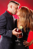 Passionate Sangria Royalty Free Stock Image