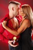 Passionate Sangria Stock Images