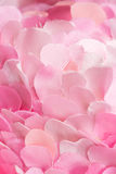 Passionate soft pink textile petals texture Royalty Free Stock Photography