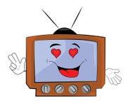 Passionate Tv cartoon Stock Image
