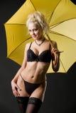 Passionate umbrella Royalty Free Stock Photos