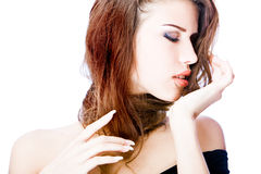 Passionate young woman Stock Photography