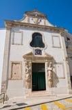 Passione教会。孔韦尔萨诺。普利亚。意大利。 库存照片