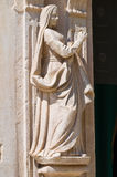 Passione教会。孔韦尔萨诺。普利亚。意大利。 免版税库存照片