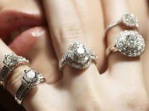 Passione del diamante Fotografie Stock