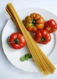 Passione dell'italiano degli spaghetti Fotografia Stock