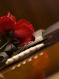 Passione della chitarra immagini stock libere da diritti