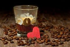 Passione per caffè Immagine Stock Libera da Diritti