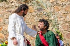 Passionen av Kristus Arkivfoton