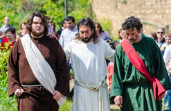 Passionen av Kristus Royaltyfri Fotografi