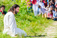 Passionen av Kristus Royaltyfri Bild