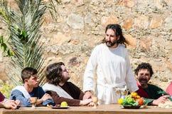 Passionen av Kristus Arkivbild