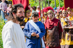 Passionen av Kristus Royaltyfria Bilder