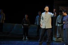 Passionerad anförandeJiangxi opera en besman Royaltyfri Bild