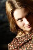 Passionerat ögonkast Royaltyfria Foton