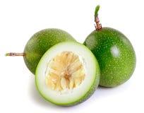 Passionfruit στο άσπρο υπόβαθρο Στοκ Εικόνες