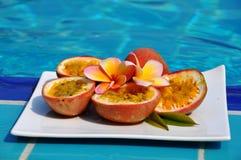 Passionfruit. Royaltyfria Foton