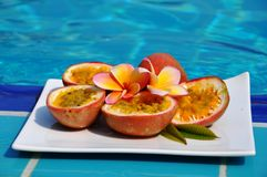 Passionfruit. Zdjęcia Royalty Free