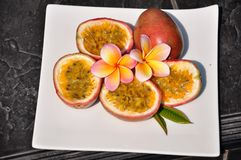 Passionfruit. Stock Images