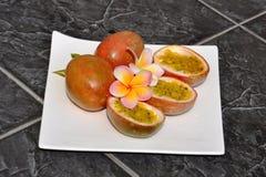 Passionfruit. Image libre de droits