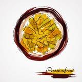 Passionfruit Royaltyfria Foton