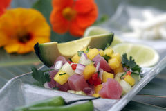 Passionfruit ceviche Stock Photos