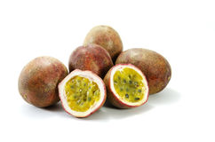 Passionfruits Royalty Free Stock Images