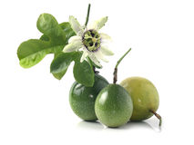 Passionfrukt eller maracuya Royaltyfria Bilder
