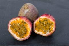 Passionfrukt, maracuja Royaltyfria Foton