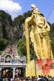 Passionnés indous à la célébration de Thaipusam Images stock