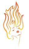 passionvektor stock illustrationer