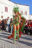 Passista in the Rio de Janeiro style Carnaval Parade Royalty Free Stock Photo
