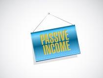 Passive income banner sign concept Stock Photo