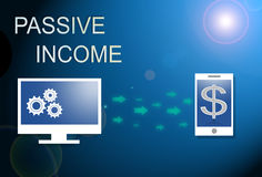 Passive income business. Royalty Free Stock Photo