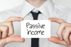 Passive income concept stock image