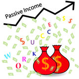 Passive Income and Financial Freedom. Concept Royalty Free Stock Photo