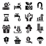 Passive income icon Royalty Free Stock Image
