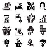 Passive income icon. Vector illustration Graphic Design symbol Royalty Free Stock Image