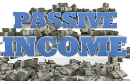 Passive Income - Internet Marketing and Sales Stock Photos