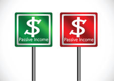 Passive income recurring incomes concept idea. An images of passive income recurring incomes concept idea Royalty Free Stock Photography