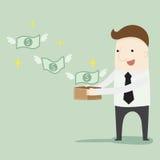 Passive income. Vector illustration cartoon vector illustration