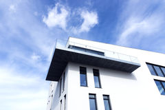 Passive modern building Stock Photography