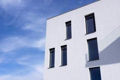 Passive modern building Stock Image