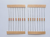 Passive resistor Royalty Free Stock Photography
