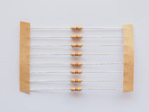 Passive resistor Royalty Free Stock Images