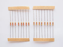 Passive resistor Stock Photos